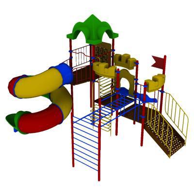 Детский городок 3ПГ-001-1