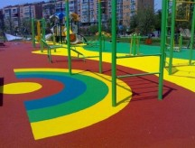 Покрытие спорт площадки